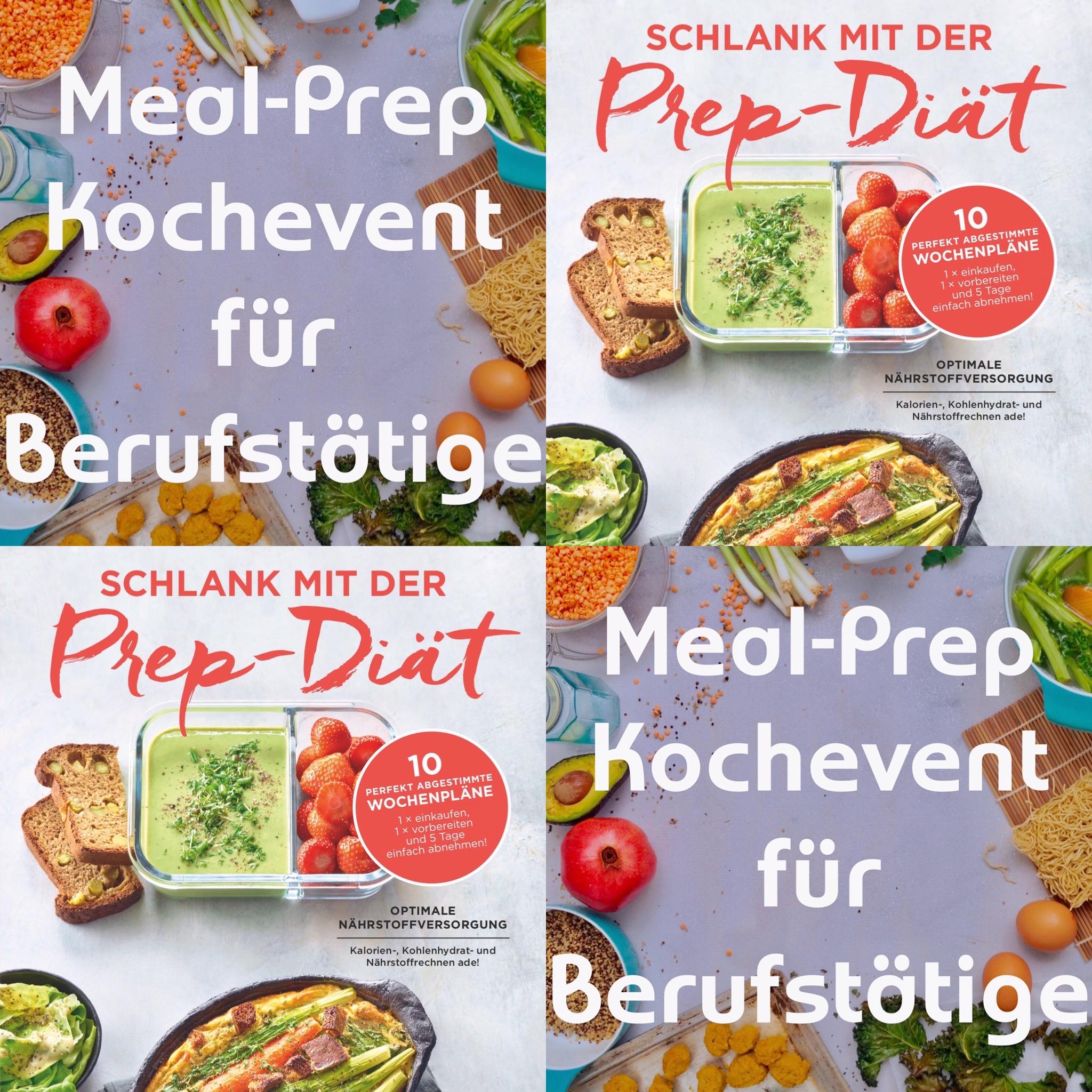 Hinweis Meal-Prep Kochevent für Berufstätige