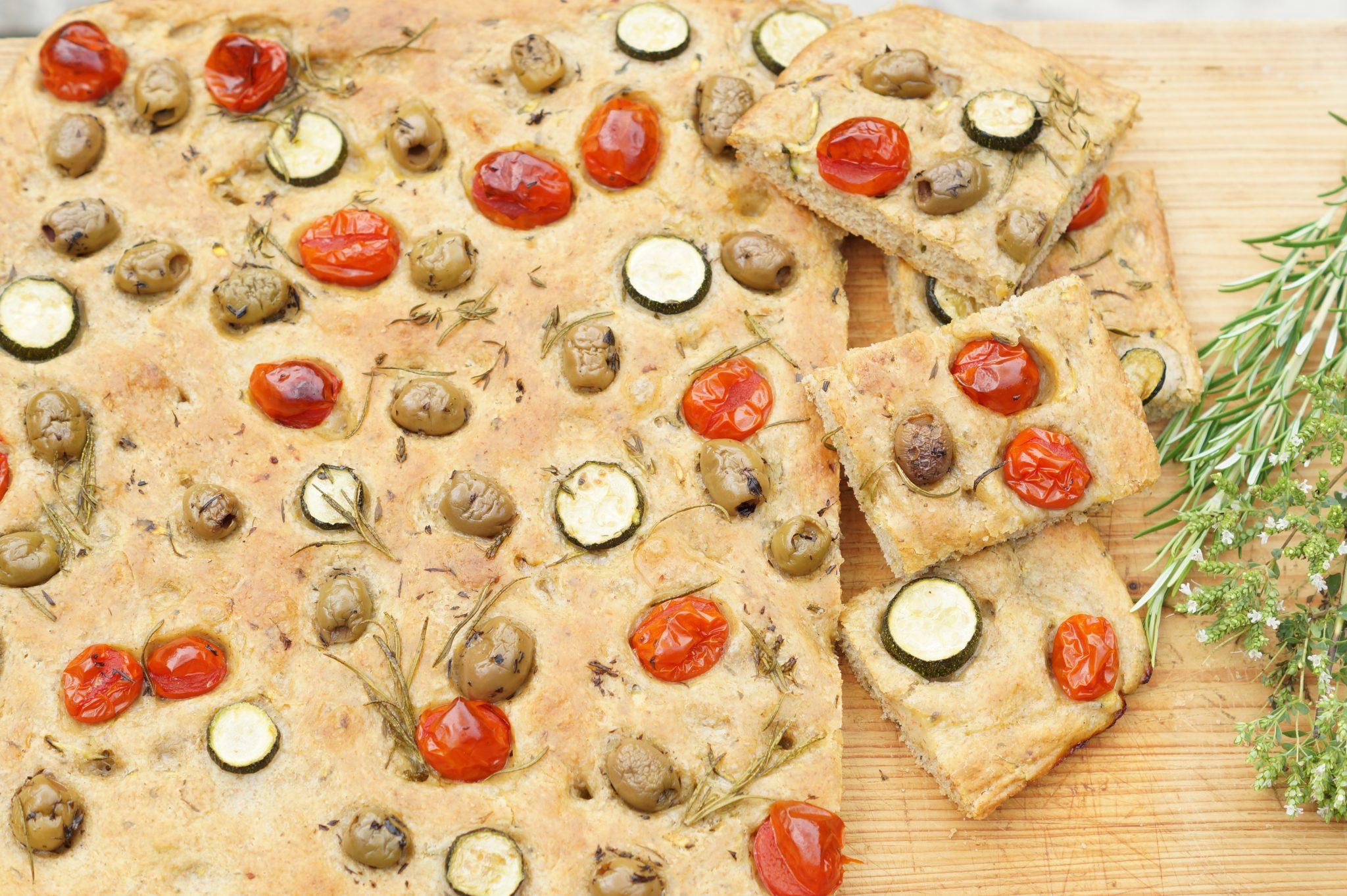 Focaccia - ein Stück Italien auf dem Teller