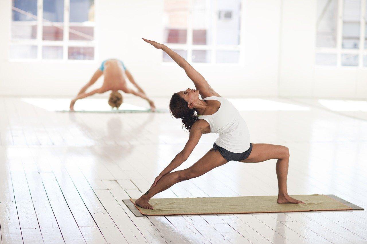 Yoga, Bewegung, Balance